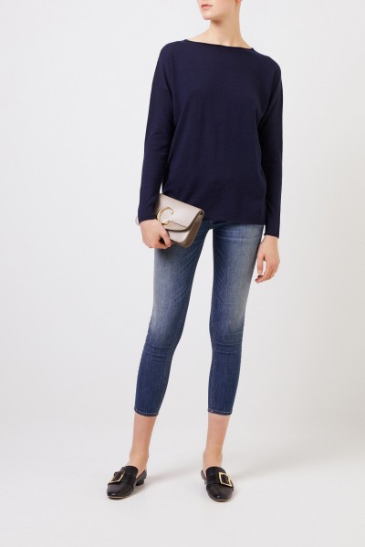 Oversize Cashmere-Pullover 'Laniv' Marineblau
