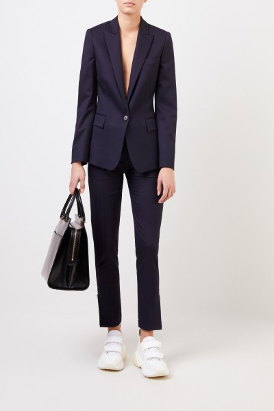 Wool blazer 'Iris' Navy Blue