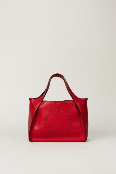 Shopper mit Stella-Logo 'Crossbody Logo Bag' Rot