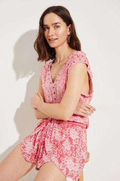 Jumpsuit 'Desirée' mit Print Pink/Multi