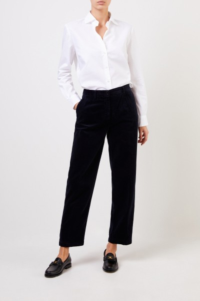 Classic corduroy trousers Navy Blue
