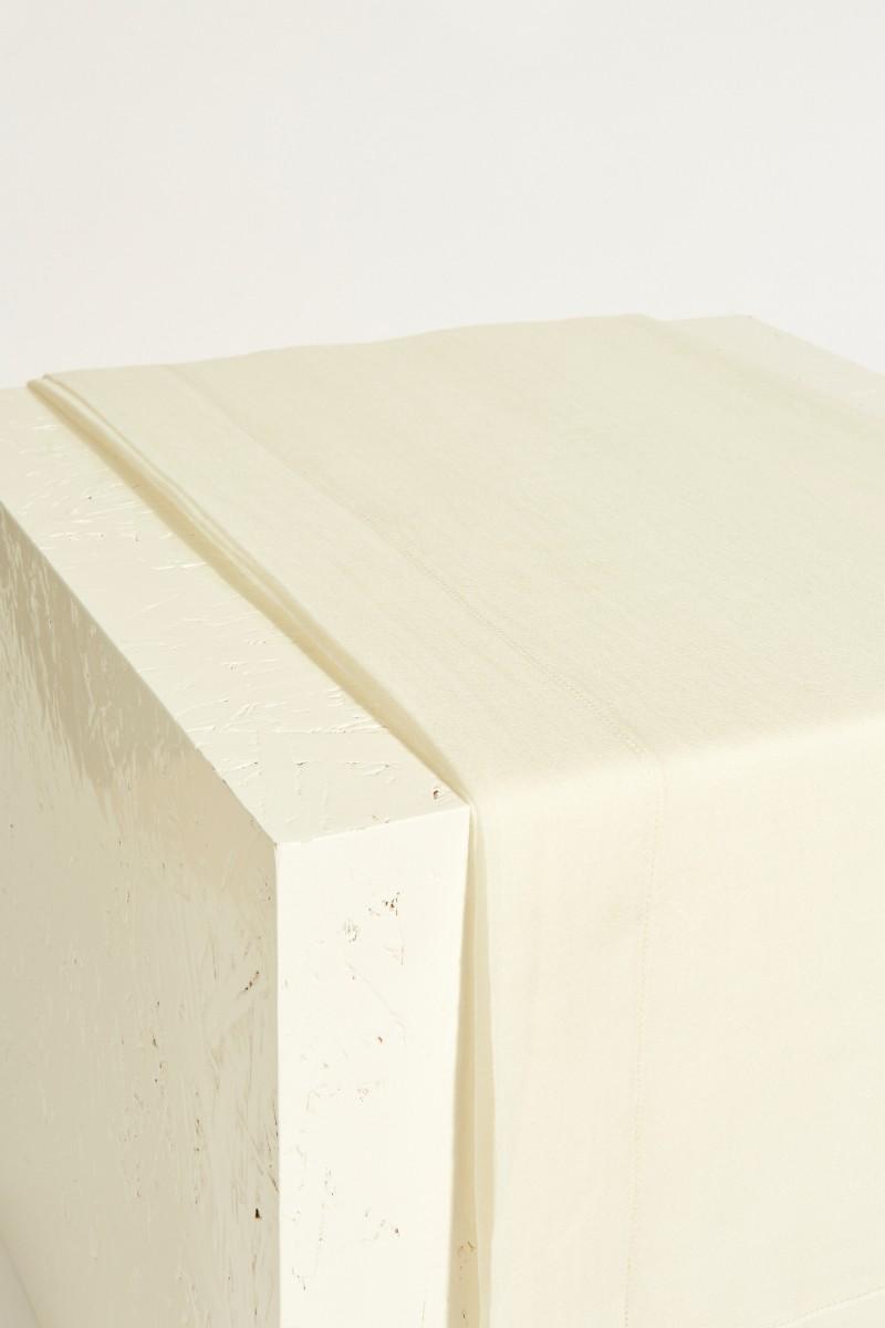 Cashmere-Plaid Crème