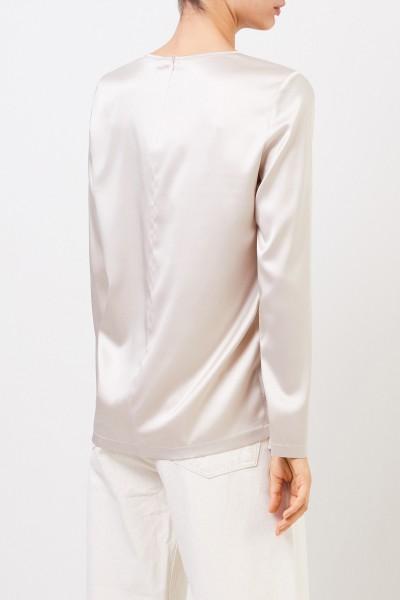 Fabiana Filippi Silk-Shirt Beige