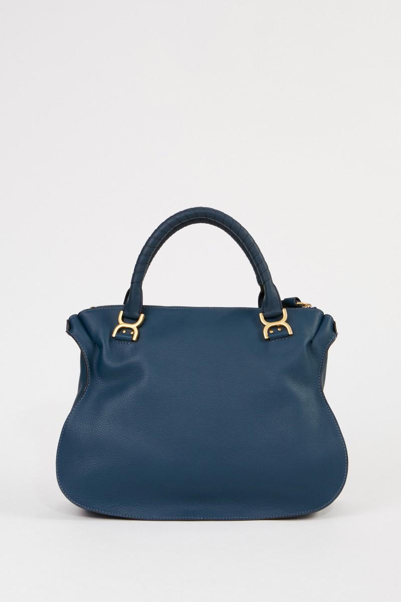 Handtasche 'Marcie Large' Navy Ink