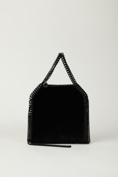 Tasche 'Falabella Mini Velve' Schwarz