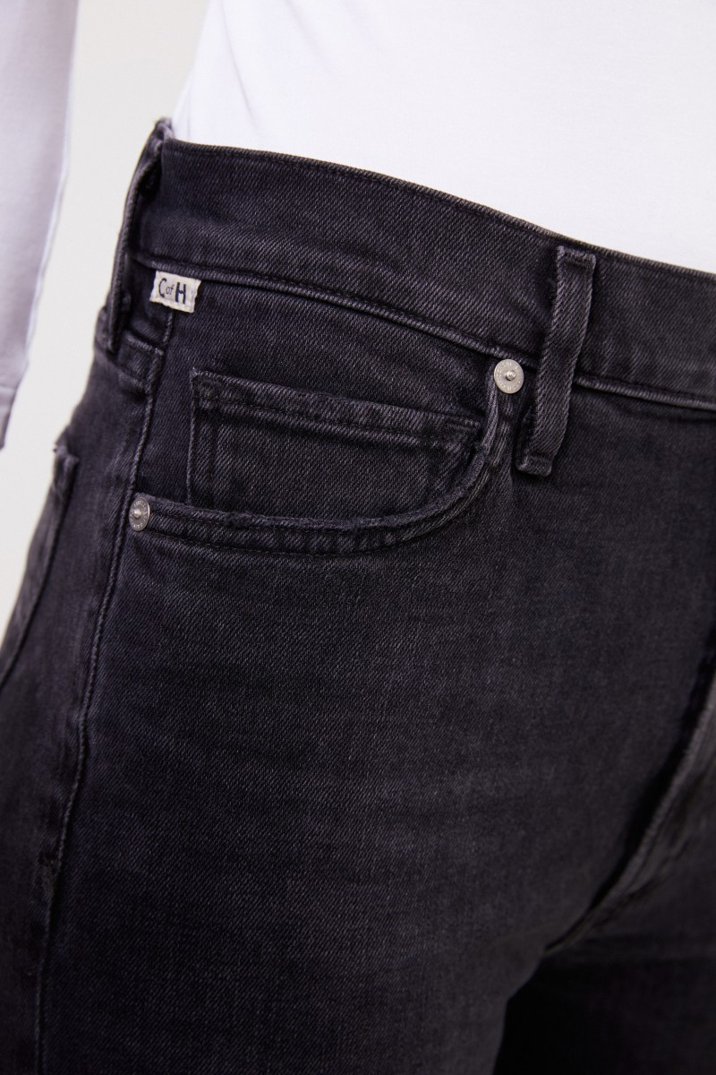 Citizens of Humanity High-rise Bootcut-Jeans 'Georgia' Schwarz