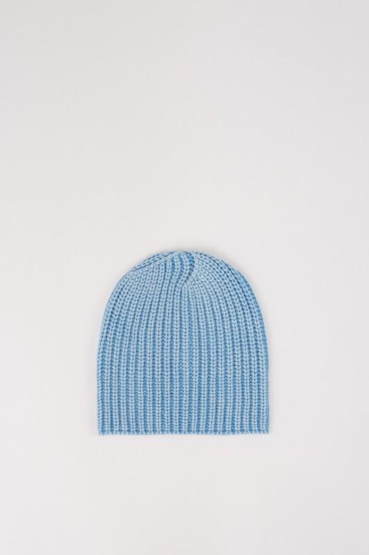 Iris von Arnim Cashmere-Mütze 'AMEEL' Blau