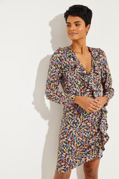 Seiden-Kleid 'Minna' mit floralem Print Multi