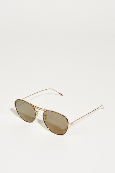 Oliver Peoples Sonnenbrille 'Cade' Gold