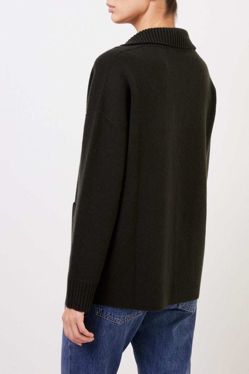 Iris von Arnim Cashmere Doubleface-Cardigan 'Pistacia' Grün