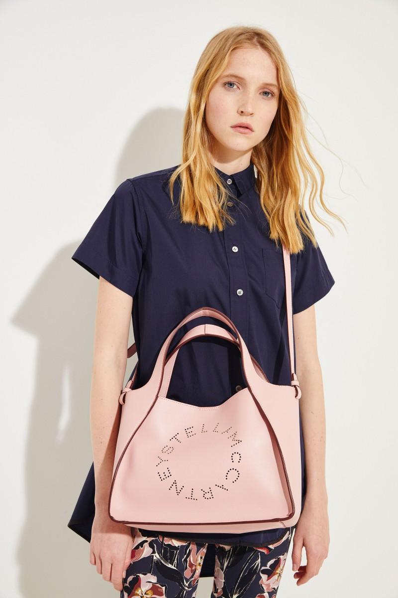 Shopper mit Stella-Logo 'Crossbody Logo Bag' Rosé