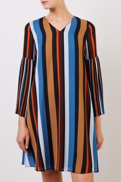 Steffen Schraut Midi dress with pleated sleeve Multi