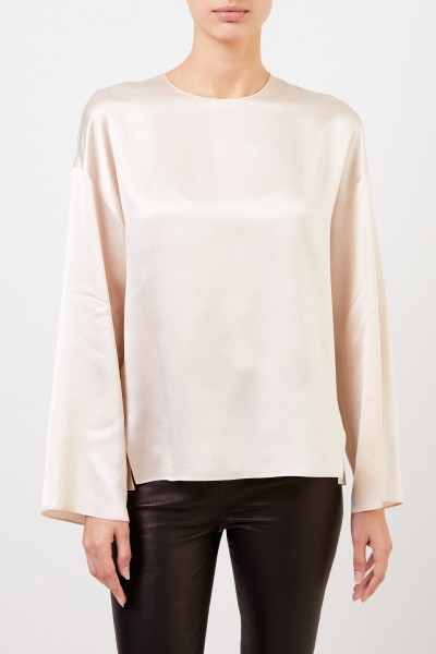 Vince Classic silk blouse Beige