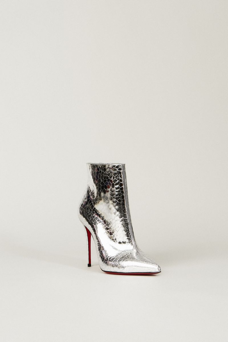 Ankle Boot 'So Kate' Silber