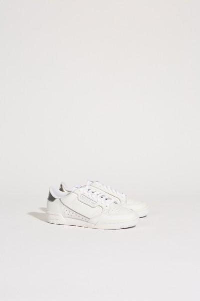 Sneaker 'Continental 80 W' Weiß/Silber