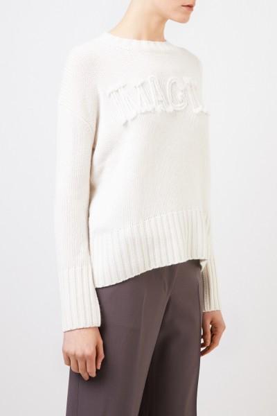 Iris von Arnim Cashmere-Pullover 'Imagine' Weiß