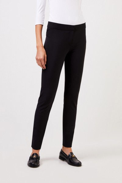 Veronica Beard Elastic Pants 'Scuba' Black