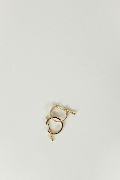 Ina Beissner Earrings 'Chikka' Yellowgold