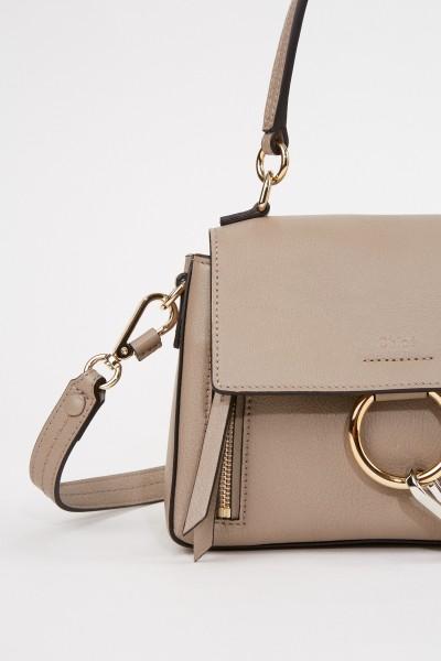 Chloé Shoulder bag 'Faye' Motty Grey