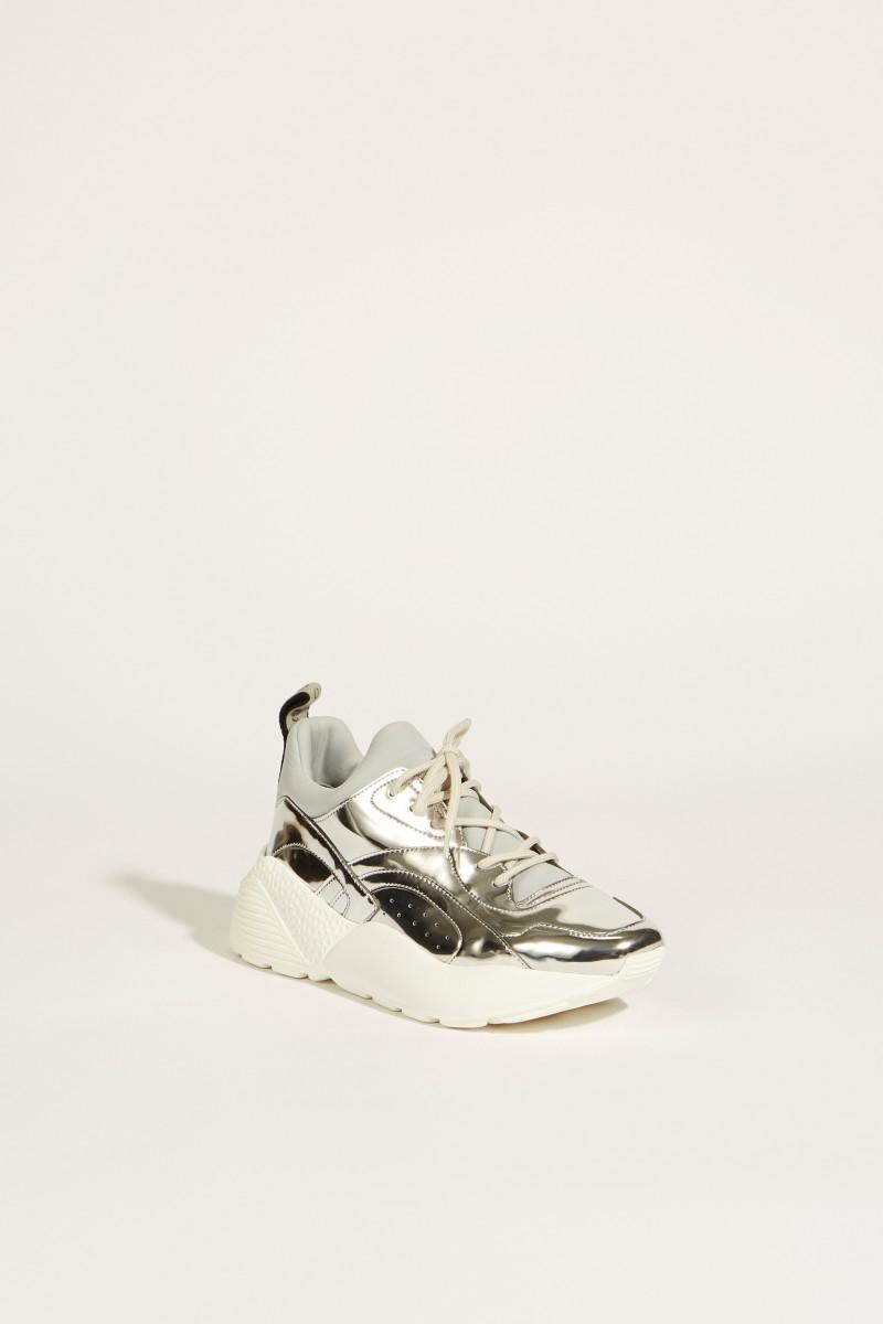 Sneaker 'Eclypse' Metallic-Silber