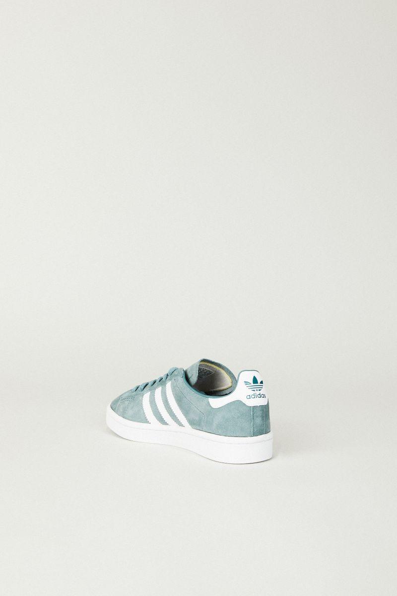 Leder Sneaker 'Campus W' Grün