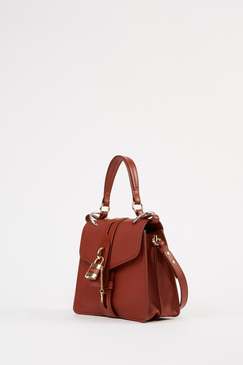 Chloé Bag 'Aby Small' Sepia Brown