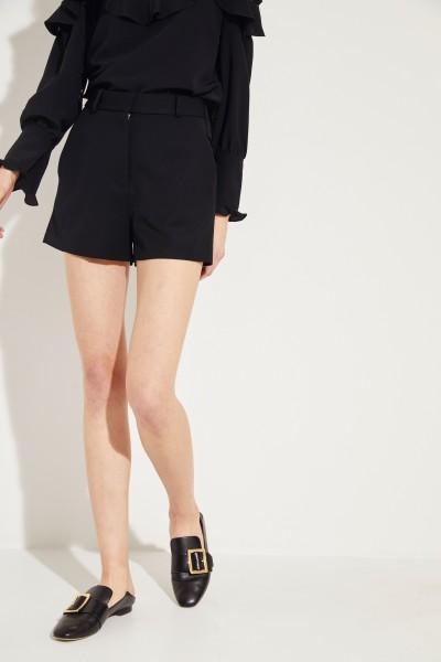 Wool Shorts Black