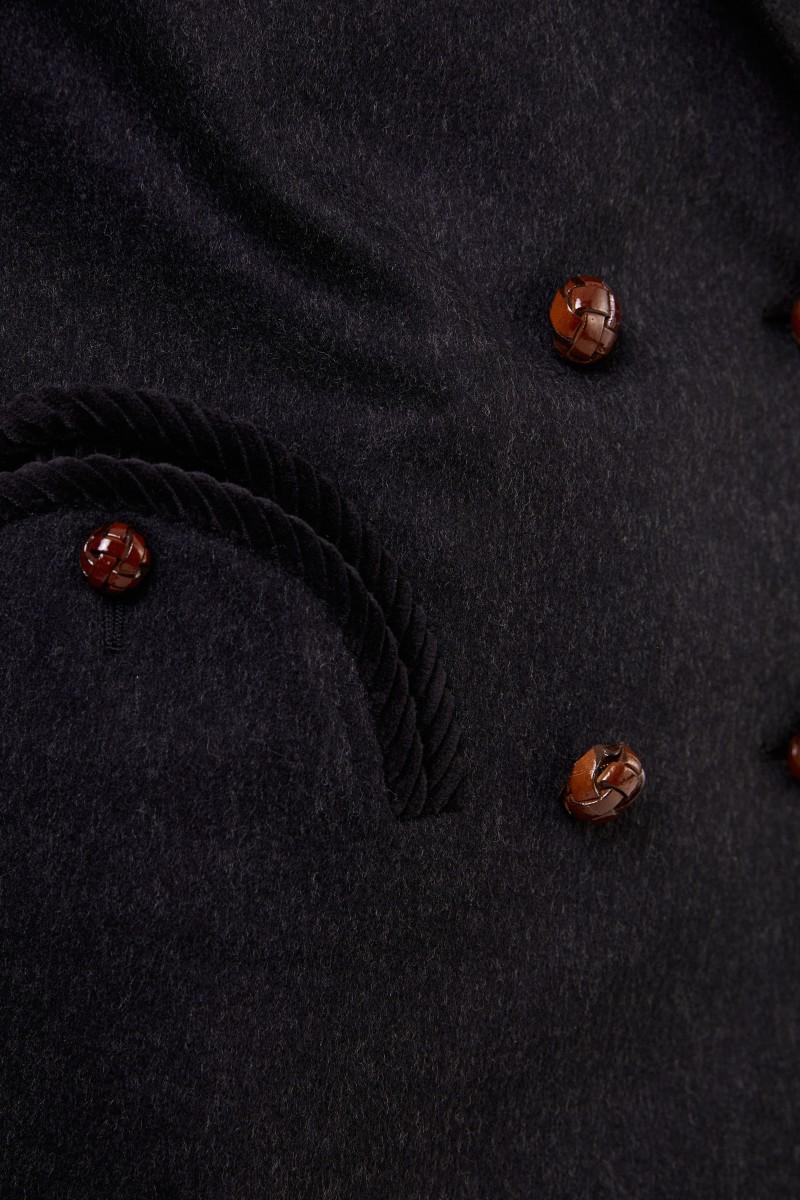 Blazé Milano Woll-Blazer 'Everyday' Schwarz Mélange