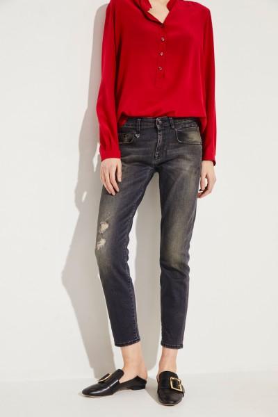 Jeans 'Boy Skinny' Grau