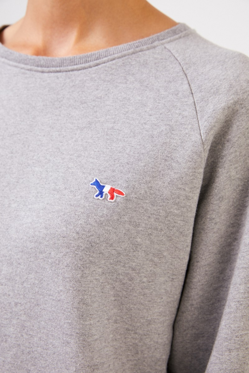 Sweatshirt 'Tricolor Fox' Grau