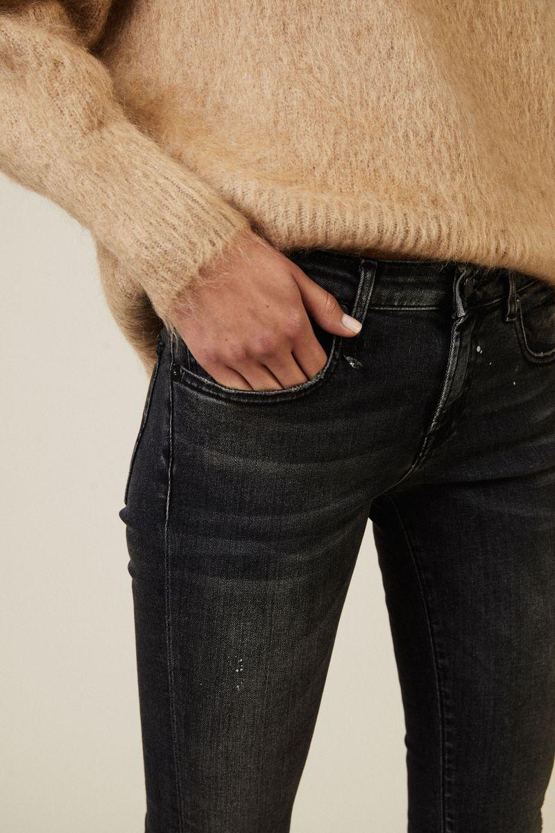 Skinny Jeans ' Kate Skinny' Schwarz