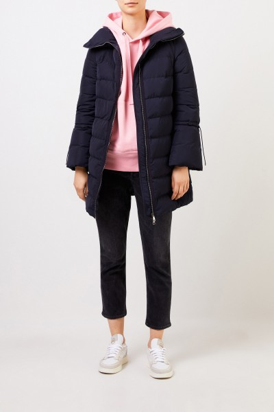 Moncler Down coat 'Belia' Navy Blue
