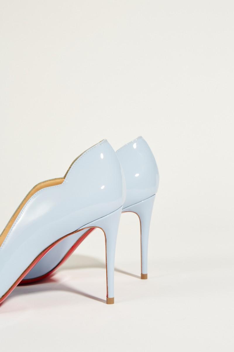 Lackleder-Pump 'Hot Chic 85' Blau
