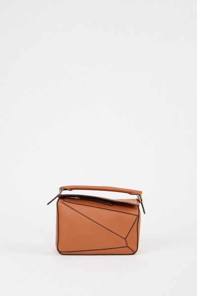 Loewe Tasche'Puzzle Bag Small' Tan