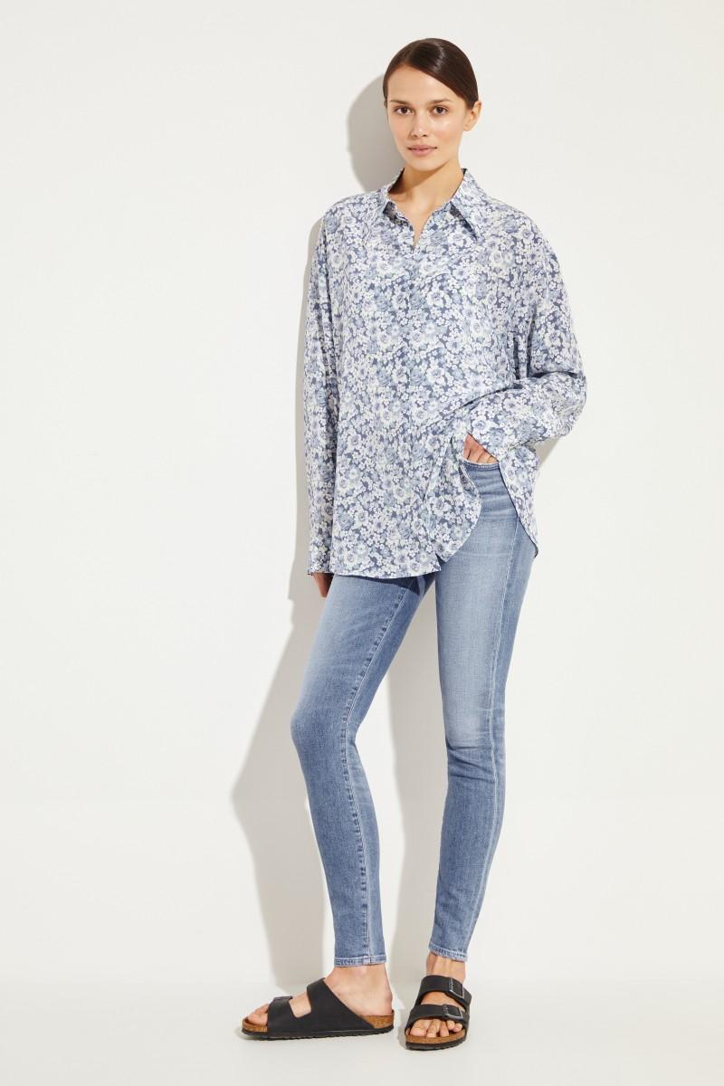 High Rise Skinny Jeans 'Rocket Regular' Blau