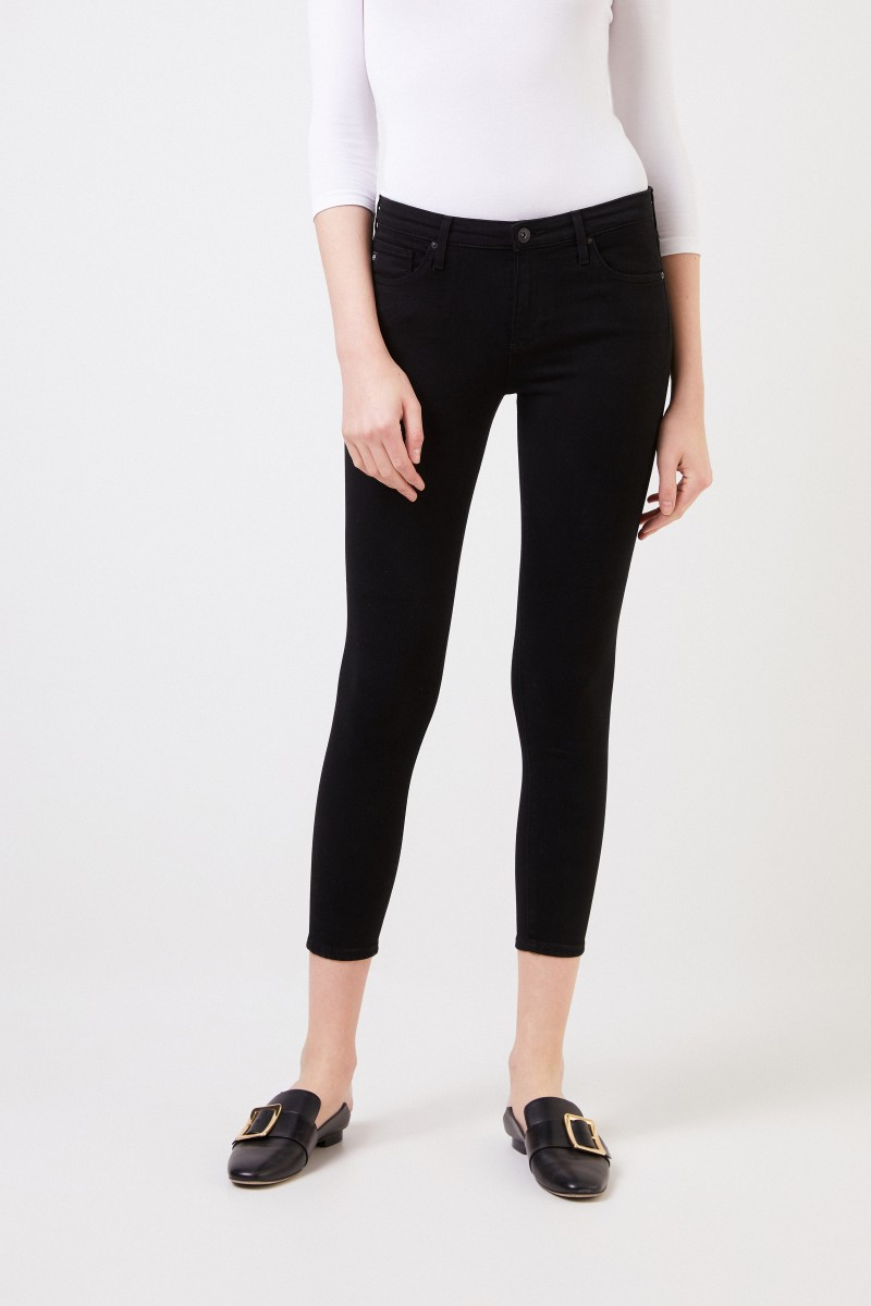 AG Jeans Jeans 'The Legging Ankle' Schwarz