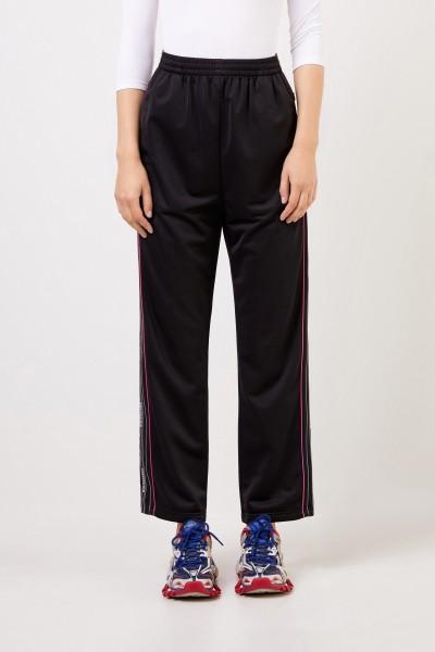 Balenciaga Pants with zippers Black