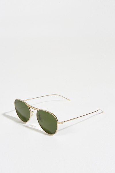 Sunglasses 'Cade' Green/Silver