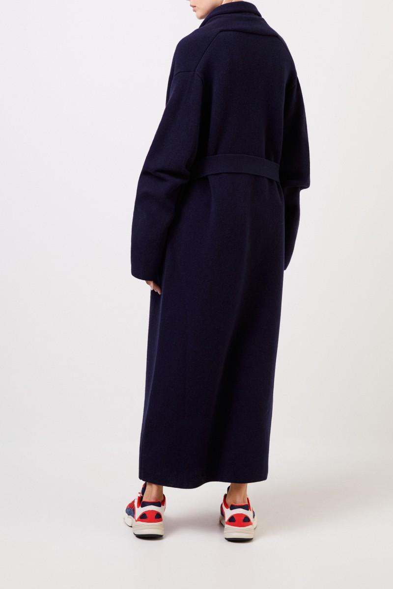 The Row Cashmere-Woll-Mantel 'Hera' Marineblau