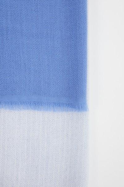 Iris von Arnim Cashmere-Tuch 'Heidi' Blau/Multi