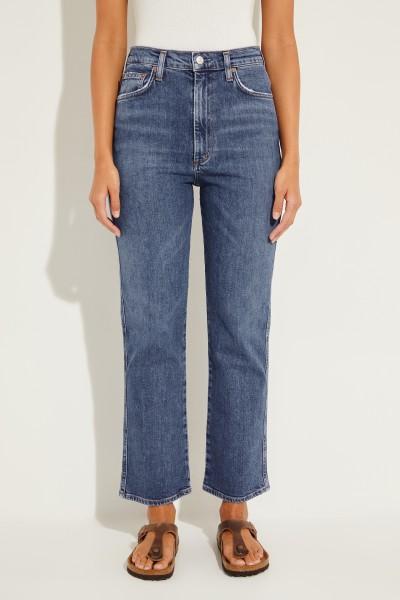 High-Rise Jeans 'Pichwaist' Blau