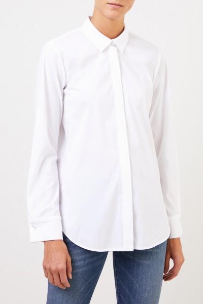 Louis and Mia Classic cotton blouse White