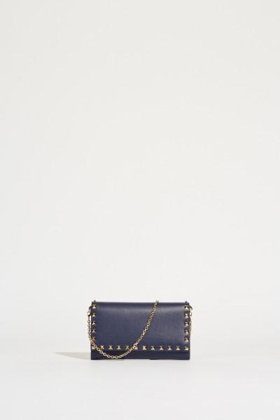 Schultertasche 'Rockstud Wallet' Marineblau