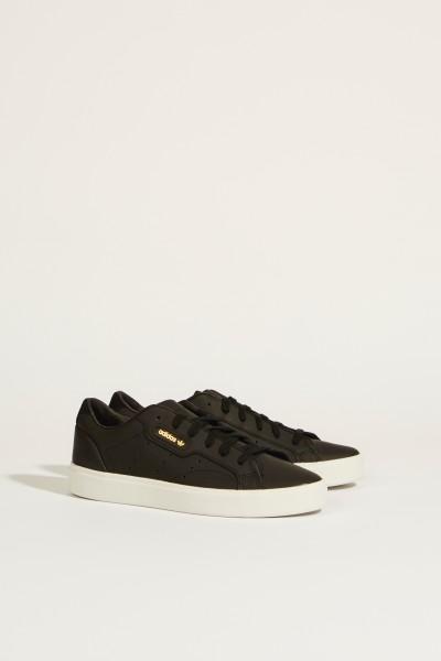 Sneaker 'Sleek W' Schwarz
