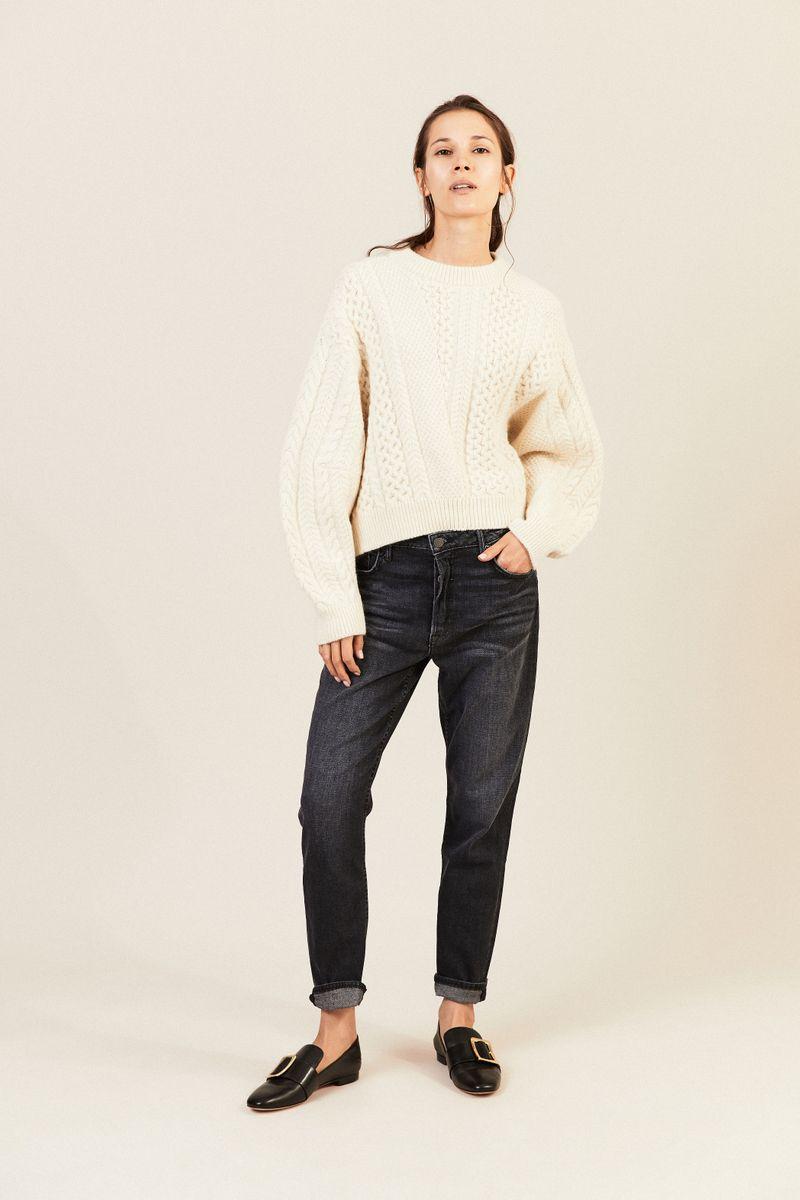 Jeans 'Kiara' Anthrazit