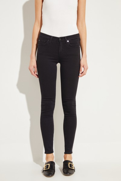 7 for all mankind Jeans 'The Skinny Slim Illusion' Schwarz