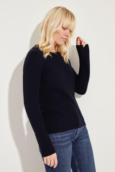 Cashmere-Pullover 'Margaux' Blau