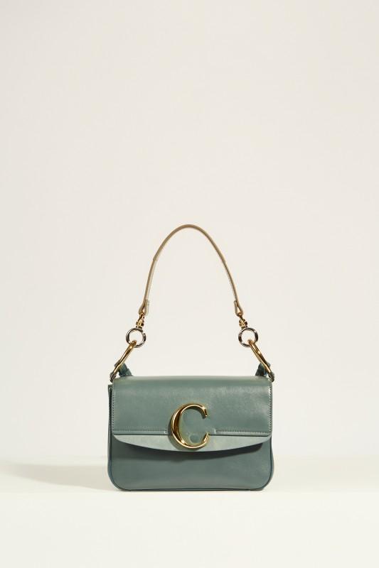 Tasche 'Chloé C Small' Cloudy Blue