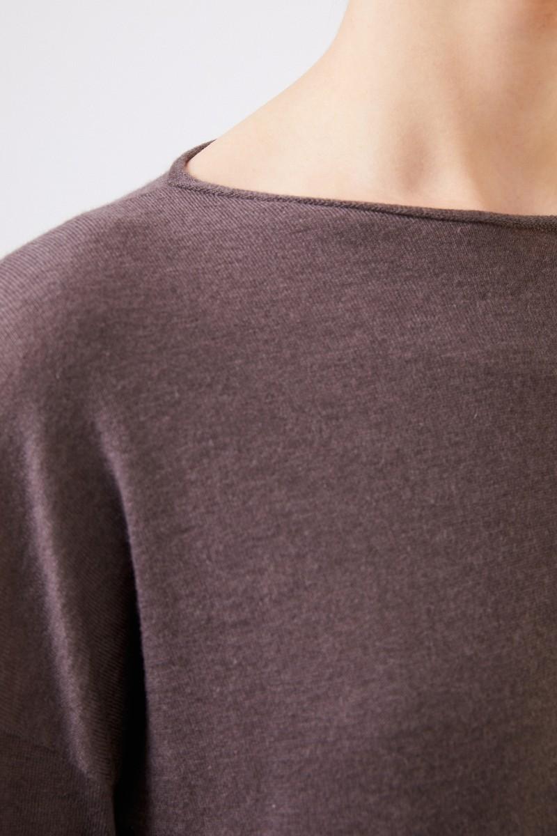 Iris von Arnim Oversize Cashmere-Pullover 'Laniv' Braun