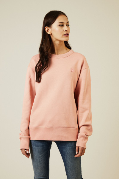 Sweatshirt 'Fairview Face' Pale Pink